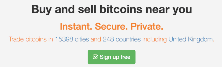 Localbitcoins screenshot