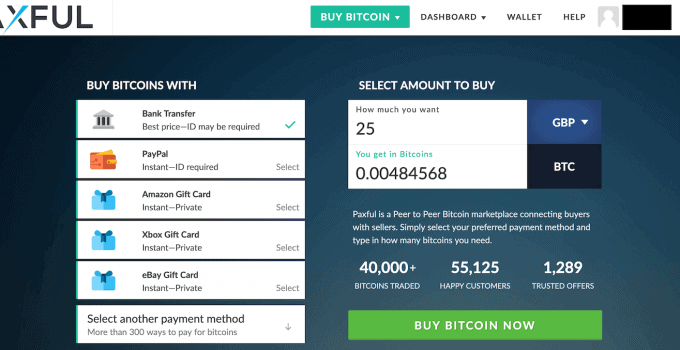 Sell Bitcoin With Steam Wallet Code Paxful How Safe Is