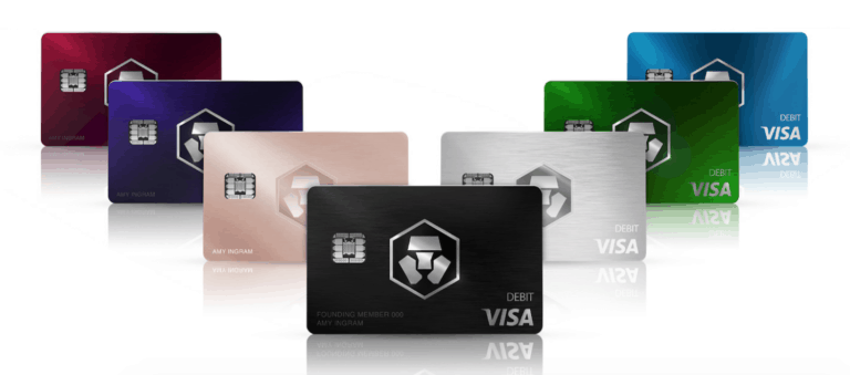 Crypto.com Cards (MCO Visa Card)